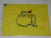 2014 MASTERS Golf Tournament Pin Flag Augusta National Bubba Watson Wins!