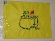 2013 MASTERS Golf Tournament Pin Flag Augusta National Pga Adam Scott Wins!