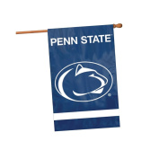 Party Animal Sports Fan NCAA Team Penn State Nittany Lions Applique Banner Flag