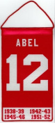 Sid Abel Detroit Red Wings Mini Retirement Banner