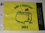 2012 MASTERS Golf Tournament Par 3 Three Contest Pin Flag Augusta National