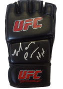 "Mark ""The Hammer"" Coleman Autographed UFC Fight Glove W/PROOF, Picture of Mark Signing For Us, UFC, Ultimate Fighting Championship, Light Heavyweight, Heaveyweight, Pride Fighting Championship, Fedor Emelianenko, Mauricio Shogun Rua, Randy Couture, Mir .."