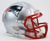 New England Patriots Riddell Speed Mini Football Helmet - New in Riddell Box