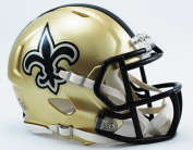 New Orleans Saints Riddell Speed Mini Football Helmet - New in Riddell Box