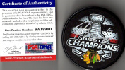 PSA/DNA Patrick Sharp Autographed Signed 2015 Stanley Cup Champions Puck