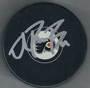 Autographed Ivan Provorov Philadelphia Flyers 1st Round Daft Pick Hockey Puck