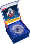 2017 NHL Winter Classic Chicago Blackhawks vs. St. Louis Blues Crystal Puck - Filled With Ice From The 2017 Winter Classic - Fanatics Authentic Certified
