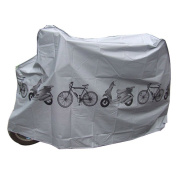 Tekbox Universal Waterproof Bike Cover Weather Resistant Indoor Outdoor Storage Use