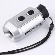 Digital 7x18 Gold Range Finder Goldscope Scope & Case K0108-1 [Misc.]