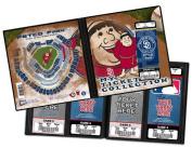 MLB San Diego Padres Swinging Friar Ticket Album, One Size
