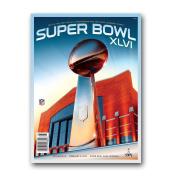 NFL New England Patriots vs. New York Giants 2011 Super Bowl XLVI Programme