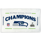Seattle Seahawks Super Bowl XLVIII Champions 60cm X 110cm Official On-field Trophy Collection Locker Room Towel