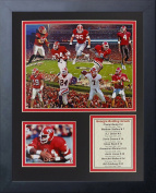 Legends Never Die Georgia Bulldogs Greats Framed Photo Collage, 28cm by 36cm
