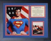 Legends Never Die Superman Framed Photo Collage, 28cm by 36cm