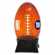 NFL New York Giants Football Shaped Night Light