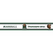 Marshall Thundering Herd - Wallpaper Border