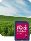 Satmap FR-CY-50-SD-003 GPS System Card for North-East France 1:50000 Scale