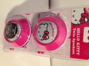 HELLO KITTY Twin Speakers High Definition Sound Compatible with iPod iPhone Game Devices Laptop