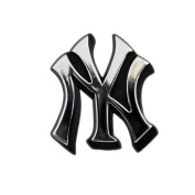 New York Yankees MLB Chrome 3D for Auto Car Truck Emblem Decal Sticker Baseball Officially Licenced Team Logo by Teampromark