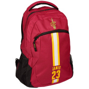 Cleveland Cavaliers NBA Action Backpack School Book Gym Bag - Lebron James #23