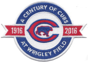 A Century of Cubs at Wrigley Field 1916-2016 Patch by The Emblem Source