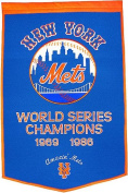 New York Mets Dynasty Banner - Licenced MLB Memorabilia - New York Mets Collectibles