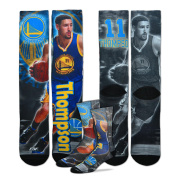Golden State Warriors Youth Size NBA Drive Crew Kids Socks (4-8 YRS) 1 Pair - Klay Thompson #11