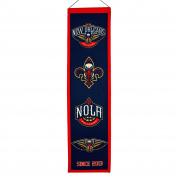 NBA New Orleans Pelicans Heritage Banner