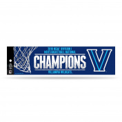 NCAA Villanova Wildcats 2016 Mens National Basketball Champions Bumper Sticker