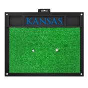 FANMATS 20528 Kansas Golf Hitting Mat, Team Colour, 50cm x 43cm