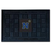 FANMATS 20617 U.S. Naval Academy Door Mat, Team Colour, 50cm x 80cm