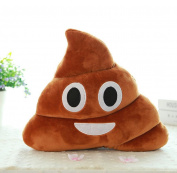Malloom Browm Emoji Smiely Poop Pillow Plush Cushions Home Decor Kids Gift Stuffed Doll