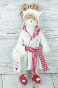 Collectable Rag Doll Bathrobe Ready For Pampering Kids Mothers Day F0908