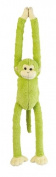 Lime Green Monkey Soft Toy - Hanging 55cm