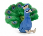 Peacock Plush Soft Toy by Living Nature