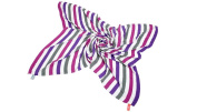 Cuski Great Swandoodles, Extra Large, Happy Purple Mix Stripes