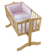 Clair de Lune Speckles Crib Set