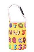 Lovely Baby Bottle Tote Bag Food Jar Tote Bag Lunch Box Bag Letter