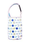 Lovely Baby Bottle Tote Bag Food Jar Tote Bag Lunch Box Bag Fish