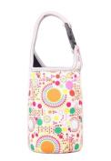 Lovely Baby Bottle Tote Bag Food Jar Tote Bag Lunch Box Bag Colourful Dot