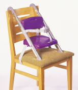 Portable Booster Seat - Folds flat, take it anywhere colour purple