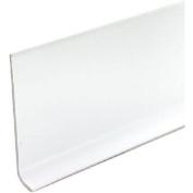 M D BUILDING PRODUCTS 6.4cm x 1.2m Snow White Vinyl Wall Base