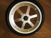 Peg Perego Rear Wheel for GT3 Fits Left and Right