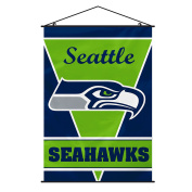 NFL Seattle Seahawks Wall Banner, One Size, Team Colour