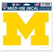 MICHIGAN WOLVERINES OFFICIAL LOGO 4X6 ULTRA DECAL WINDOW CLING