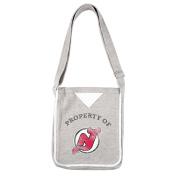 NHL New Jersey Devils Women's Hoodie Crossbody Purse, Grey