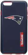 Forever Collectibles - Licenced NFL Cell Phone Case for Apple iPhone 6 Plus / 6s Plus - Retail Packaging - New England Patriots