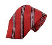 NCAA Wisconsin Badgers Primary Prep Necktie, Red, One Size