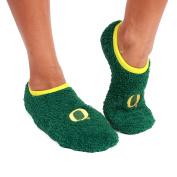 NCAA Oregon Ducks Foot-Z-Sox Slipper Socks, One Size, Green
