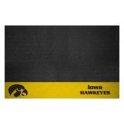 FANMATS NCAA University of Iowa Hawkeyes Vinyl Grill Mat